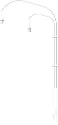 Wandlamp Willow - 2 Lights - 120cm - Wit - Vita